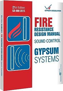 GA-600-15: Gypsum Fire Resistance Design Manual, 21st Edition