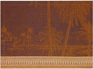 Le Jacquard Francais 26764 Lot de 2 Sets de Table Croisiere Sur le Nil Desert Lin 50 x 36 cm