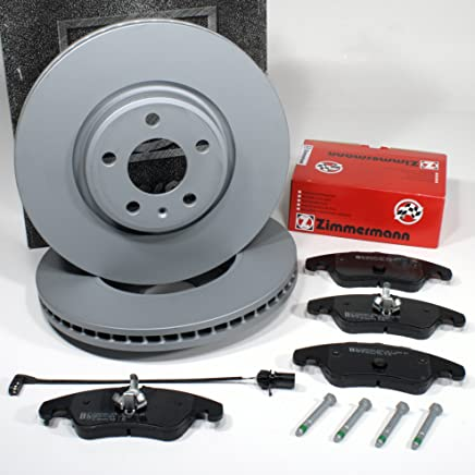 Zimmermann Brake DISCS 1ZK Coat Z with Brake Front Cable Alarm Front Axle