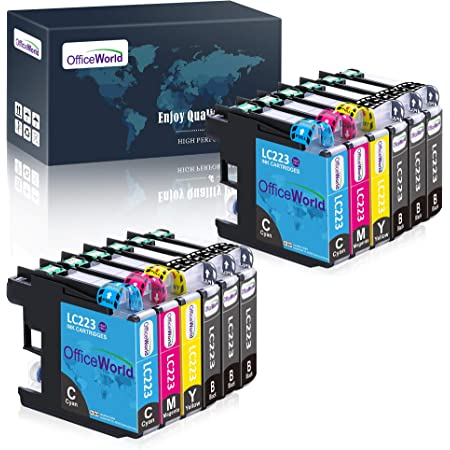 Officeworld Replacement For Brother Lc223 Printer Cartridges Compatible With Brother Mfc J5320dw Dcp J4120dw Mfc J480dw Mfc J5720dw Mfc J5625dw Mfc J4620dw Mfc J4420dw Mfc J880dw Mfc J4625dw Dcp J562dw Bürobedarf Schreibwaren