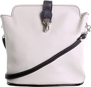 Primo Sacchi® Ladies Soft Italian Leather Hand Made Adjustable Strap Cross Body or Shoulder Bag Handbag. Includes a Branded Protective Storage Bag
