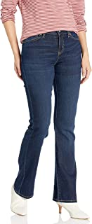 Signature by Levi Strauss & Co Women's Modern Boot Cut Jeans, Stormy Sky, 18 Medium