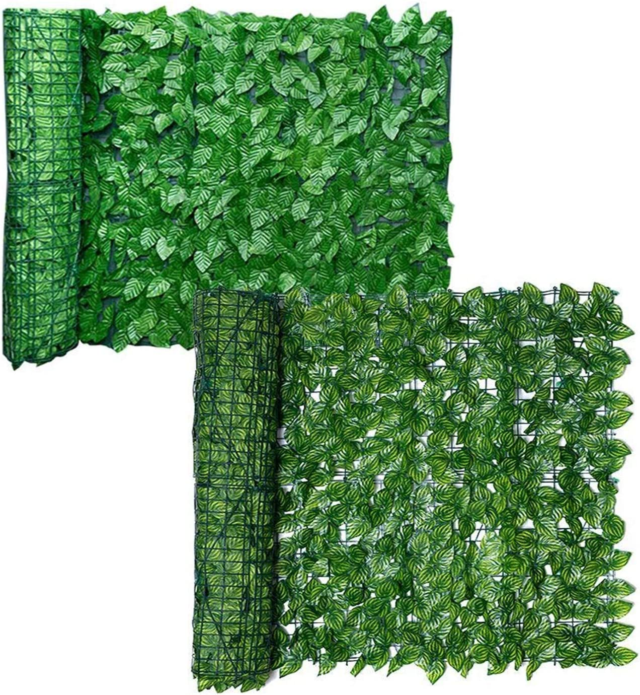 ACD Garden Fence Decoration 5 popular Privacy Wood with Directly managed store L Artificial Green
