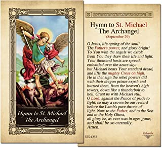 Hymn to St. Michael the Archangel Laminated Prayer Card