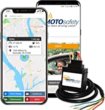 MOTOsafety Wired 4G GPS Tracking Device, Vehicle Safe Driving Reports, Vehicle Maintenance, and Geofences