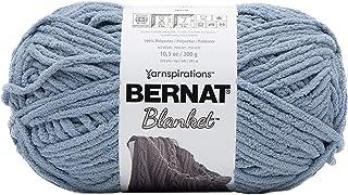 Bernat Blanket Yarn, Gray Blue