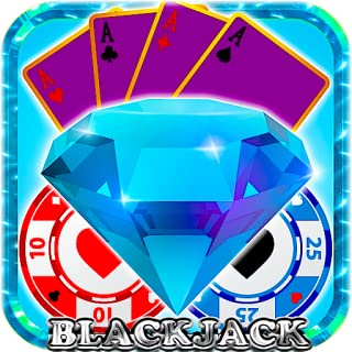 Blackjack 21 Million Diamonds Bijou Pearls Elite Free Blackjack 21 Video Casino Best 2015 Jackpot Free Game for Kindle Tablets Multiple Cards Game Dealer Virtual Wins
