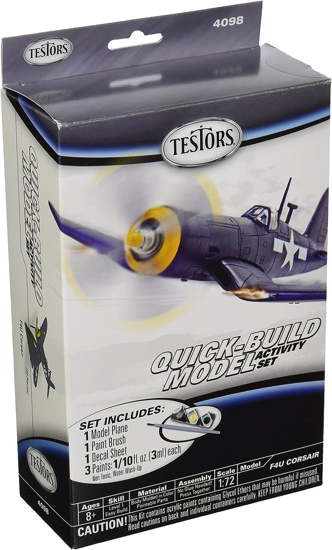 Testors F4U Corsair Quick Build Model (1 73 Scale) Aircraft