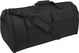 Mercury Tactical Gear Code Alpha Hybrid Garment Duffel Bag, Basic, Black
