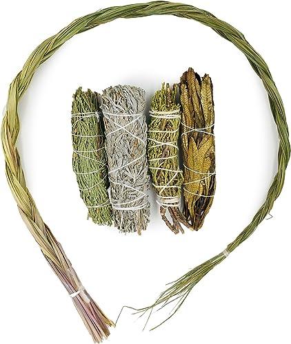 2021 Alternative Imagination Sample wholesale Incense Bundle. popular Includes Cedar, Juniper, Yerba Santa, Blue Sage, and Sweetgrass outlet sale