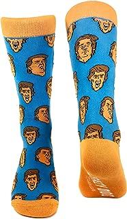 Trump Face Socks Funny President Casual Footwear