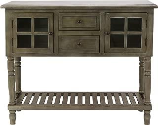 Morgan Two Door Console Table (Antique Gray)