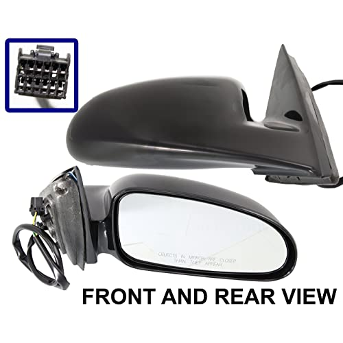 Door Mirror Glass New Replacement Driver Side For Pontiac Bonneville 92-99