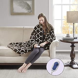 Beautyrest - Plush Heated Throw Blanket – Secure Comfort Technology –Oversized 60