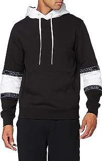 Calvin Klein Jeans Men's Blocking Logo Tape Hoodie Sweater