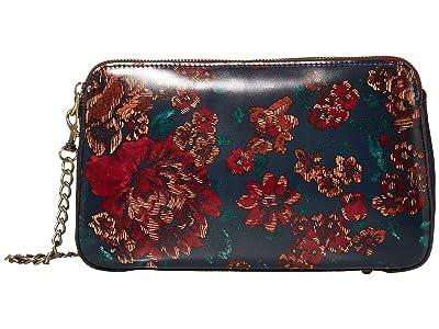 Patricia Nash Chambery New Rectangle Chain Crossbody in Print (Fall Tapestry) Handbags