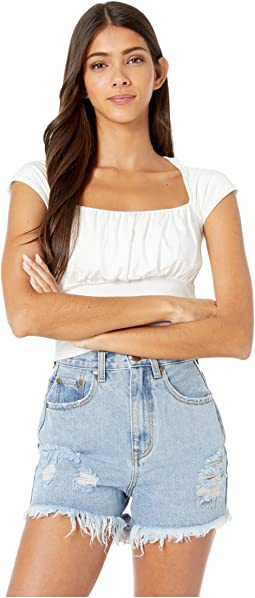 Madelyn Ruched Bust Top