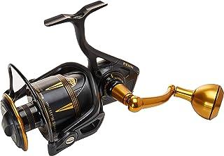Penn Slammer III Spinning 4500 - Carrete de Pesca (416 g), Color Negro y Dorado