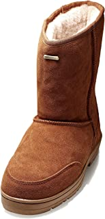 K.Signature Mens Joyce Classic Sheepskin Winter Boots