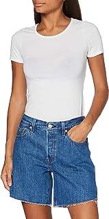 Levi's 501 Short Long Pantaloncini Donna
