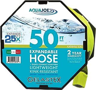 Aqua Joe AJEXH50-SJG Expandable Hose, 50 Foot, Green