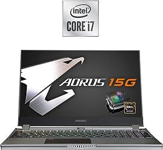 AORUS 15G (WB) パフォーマンス ゲーミングノートパソコン 15.6インチ FHD 240Hz IPS GeForce RTX 2070 Max-Q 第10世代 Intel i7-10750H メカニカルキー付き 16GB DDR4...