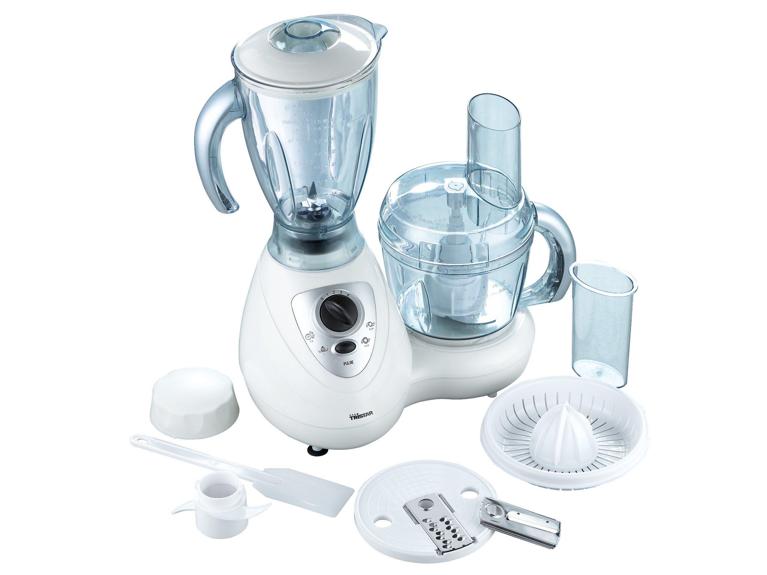 Tristar MX-4143 - Robot de cocina multifunción con batidora de vaso, 500 W: Amazon.es: Hogar