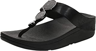 FitFlop Halo Shimmer Toe-Thongs womens Women Thong Sandals