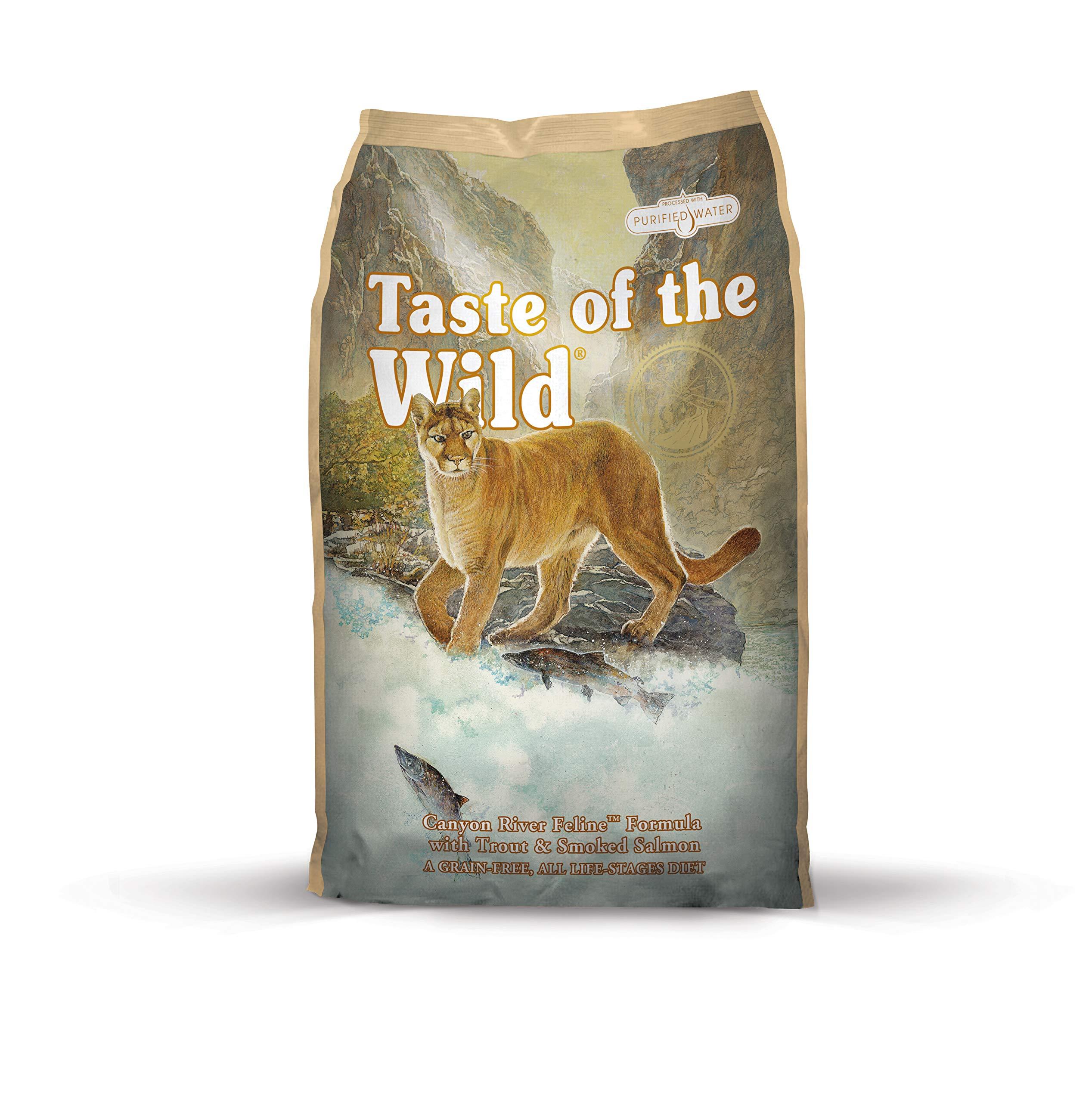 Taste Of The Wild pienso para gatos con Trucha y Salmon ahumado 2 ...