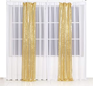 Best 7ft drop curtains Reviews