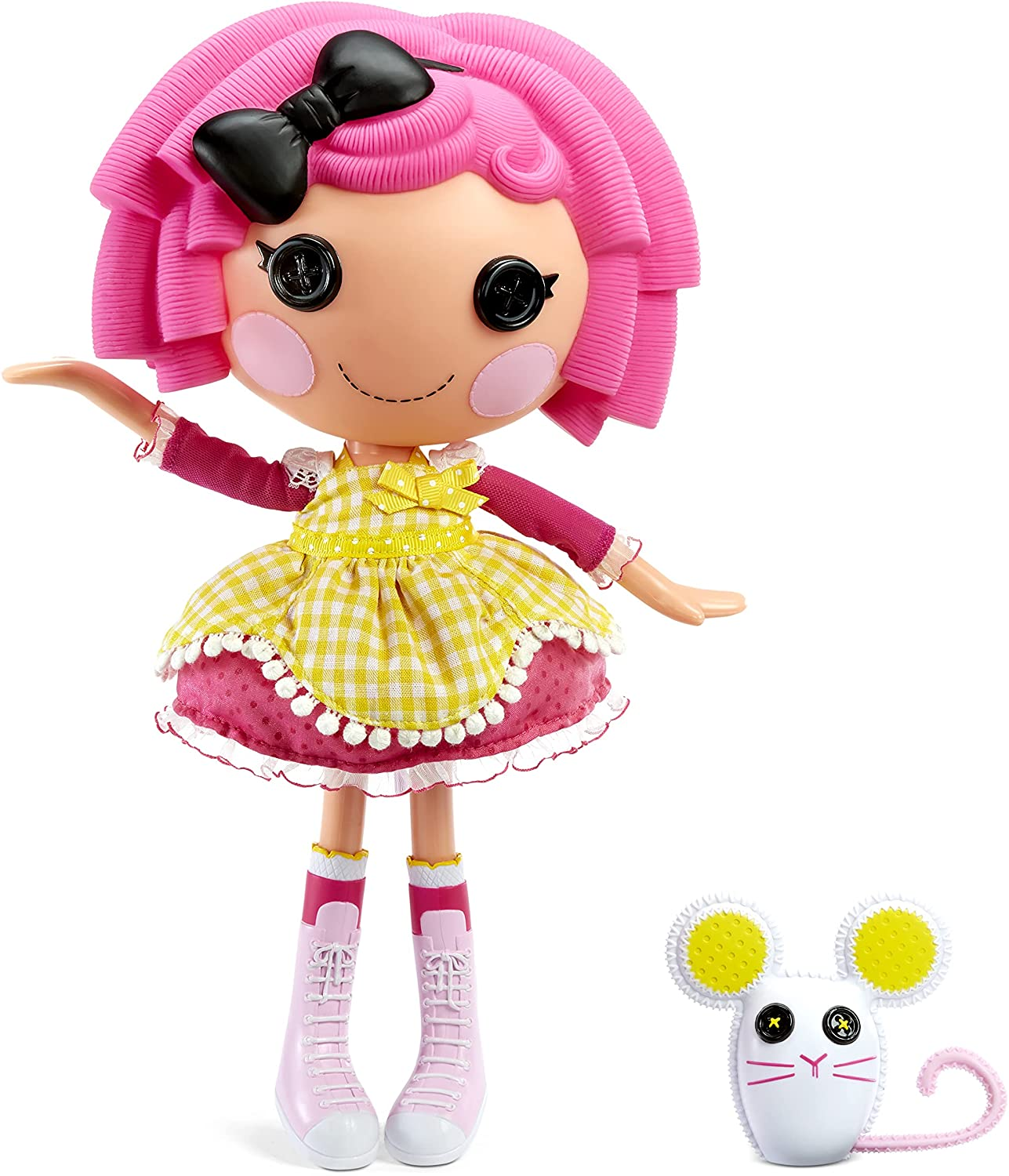 Lalaloopsy Doll - Crumbs Sugar Cookie with Pet Mouse, 13
