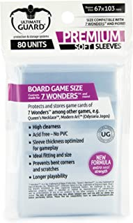 Ultimate Guard Prem Game Sleeves 7 Wonders (80) Cards