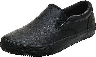 حذاء الكيد للرجال، يناسب العمل والمواقع الصناعية ومواقع التشييد، حذاء مقاوم للانزلاق من سكيتشرز