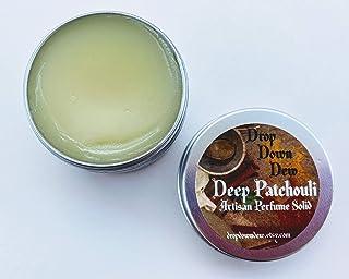 Deep Patchouli Perfume Solid, Perfume Balm, Perfume Rub, Aromatherapy, Essential Oils, Patchouli Lover, Travel Perfume, 1 oz.
