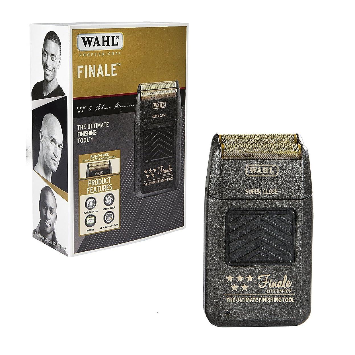 鉱石歯車側面Wahl Professional 5 Star Series Finale Finishing Tool #8164 - Great for Professional Stylists and Barbers - Super Close - Black (並行輸入品)