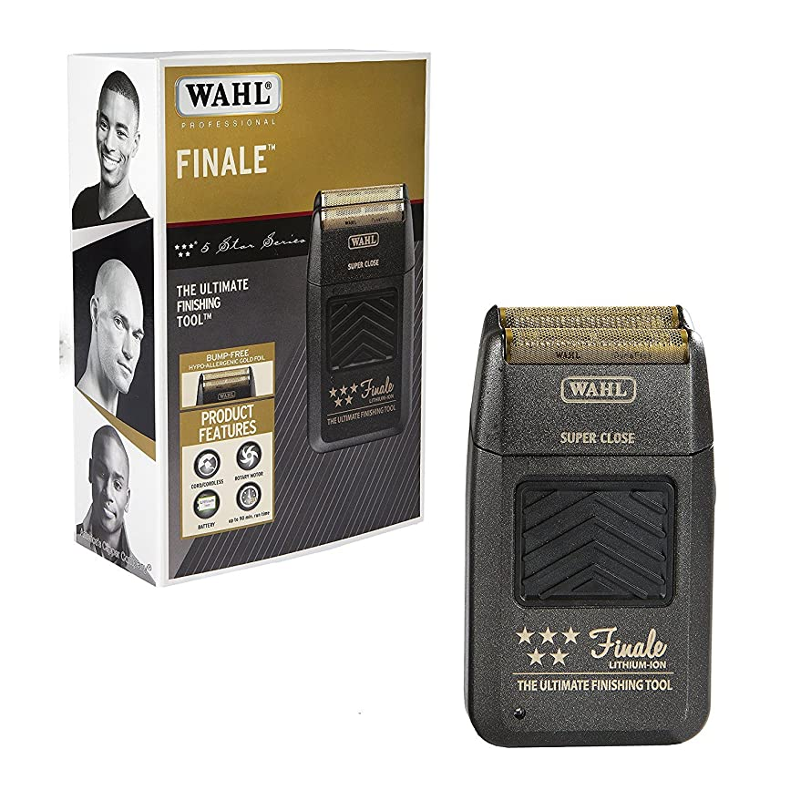 Wahl Professional 5 Star Series Finale Finishing Tool #8164 - Great for Professional Stylists and Barbers - Super Close - Black (並行輸入品)