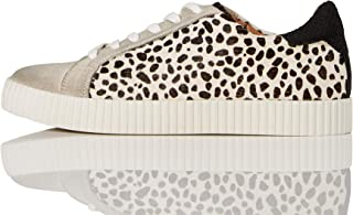 Marque Amazon - find. Animal Print Suede, Sneakers Basses femme