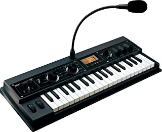 KORG(コルグ) アナログ モデリング シンセサイザー ボコーダー キーボード microKORG XL+ コンパクト 電池駆動可 37鍵 アダプター マイク付属
