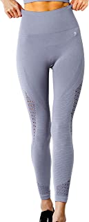Savoy Active Seamless High Waist Compression Leggings with Cutouts & Ribbing Detail