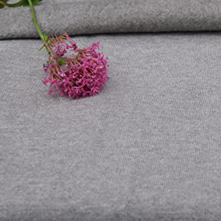 Bamboo Charcoal Fleece Certified Organic, Fabric by The Yard