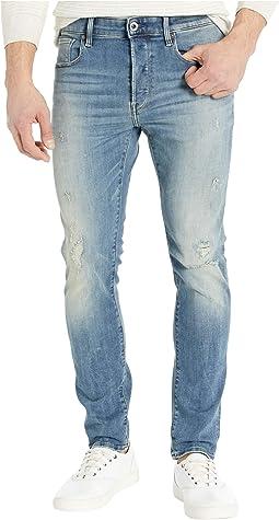 G star attacc straight fit jeans in brooklyn denim raw +