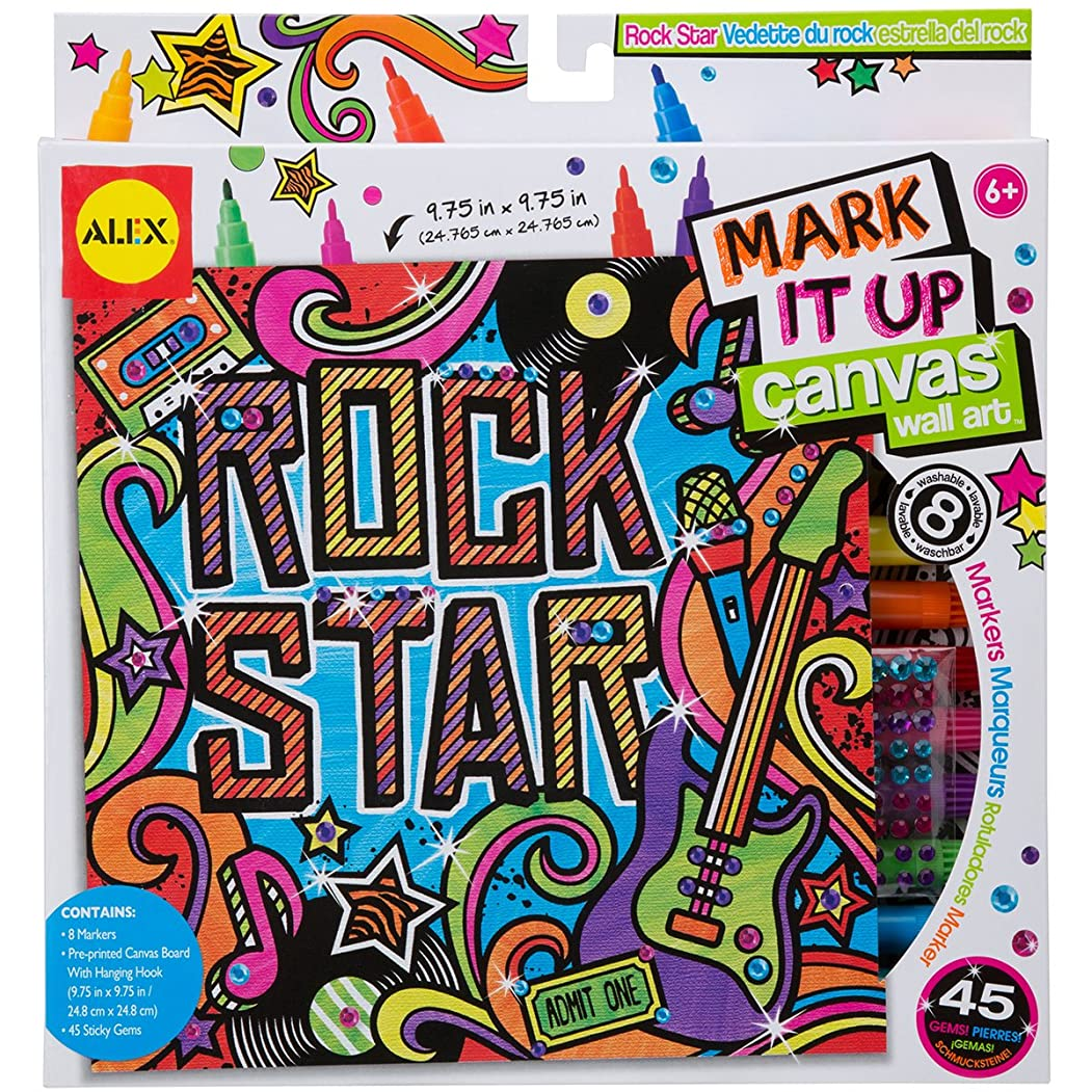 どのくらいの頻度で現像スピーカーAlex Toys Artist Studio Rock Star Mark It Upキャンバス壁アート