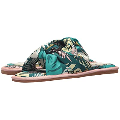 Dolce Vita Halle (Green Palm Print) Women
