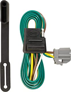 CURT 56210 Vehicle-Side Custom 4-Pin Trailer Wiring Harness for Select Chevrolet Equinox, GMC Terrain
