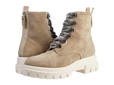 AGL Combat Boot (Taupe) Women