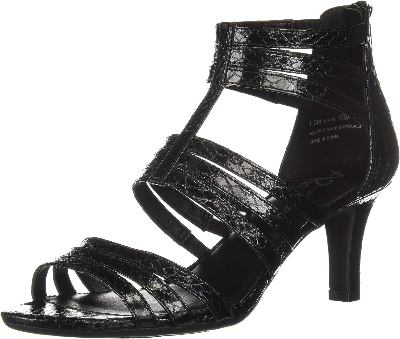 Aerosoles Womens Pastel Heeled Sandal