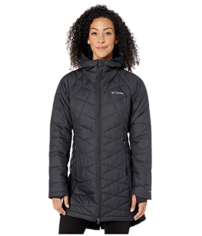 Columbia Heavenlytm Long Hybrid Jacket (Black) Women