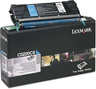 Lexmark C5220CS C522 C524 C530 C532 C534 Toner Cartridge (Cyan) in Retail Packaging