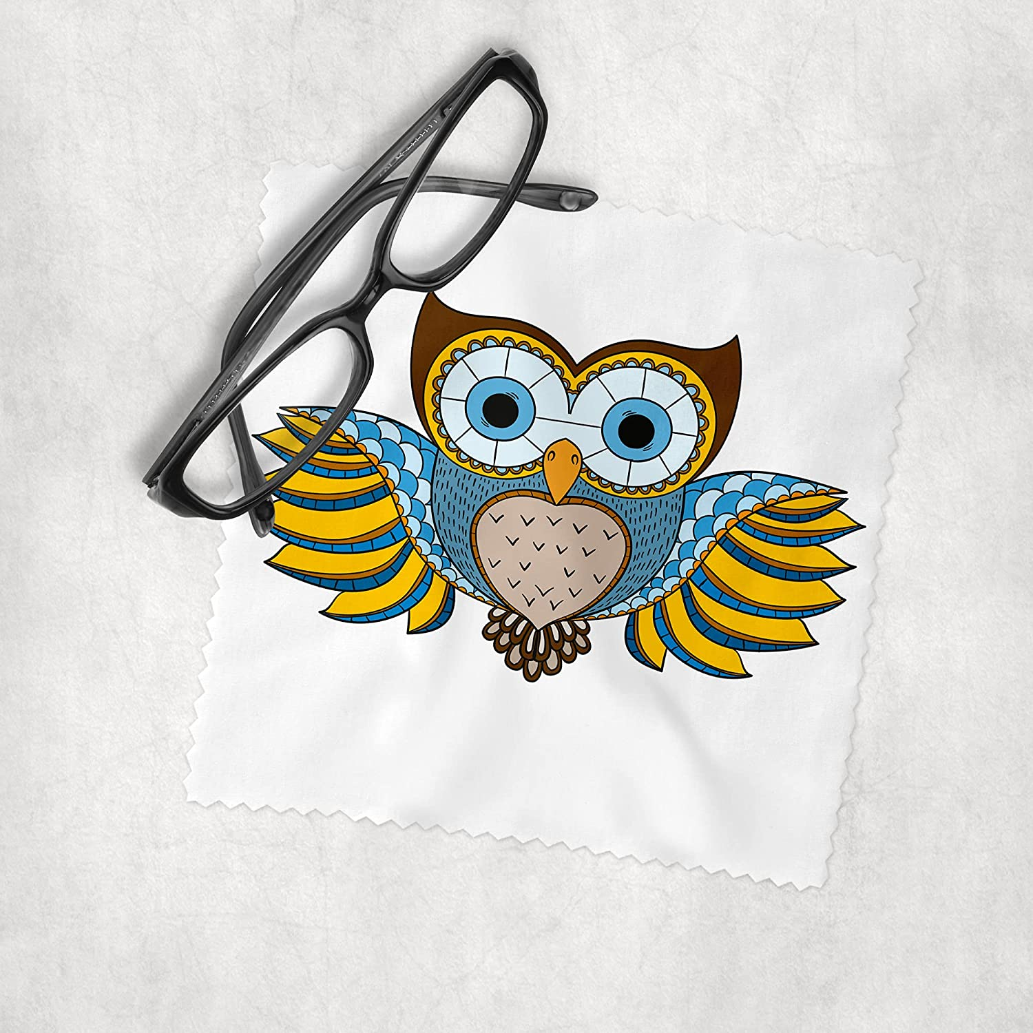 Luxury Owls 3 - Microfiber Lens Cleaning Cloth At the price of surprise Sungla