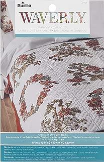 46067 Butterfly Bucilla Stamped Quilt Blocks